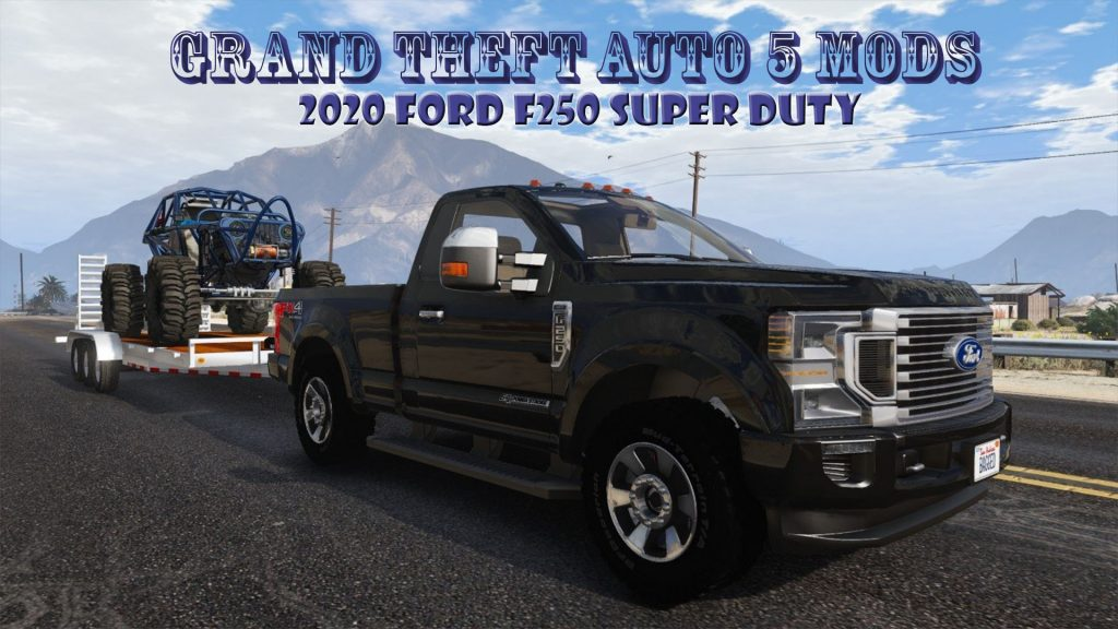 2020-Ford-F-250-Done Mod for GTA5