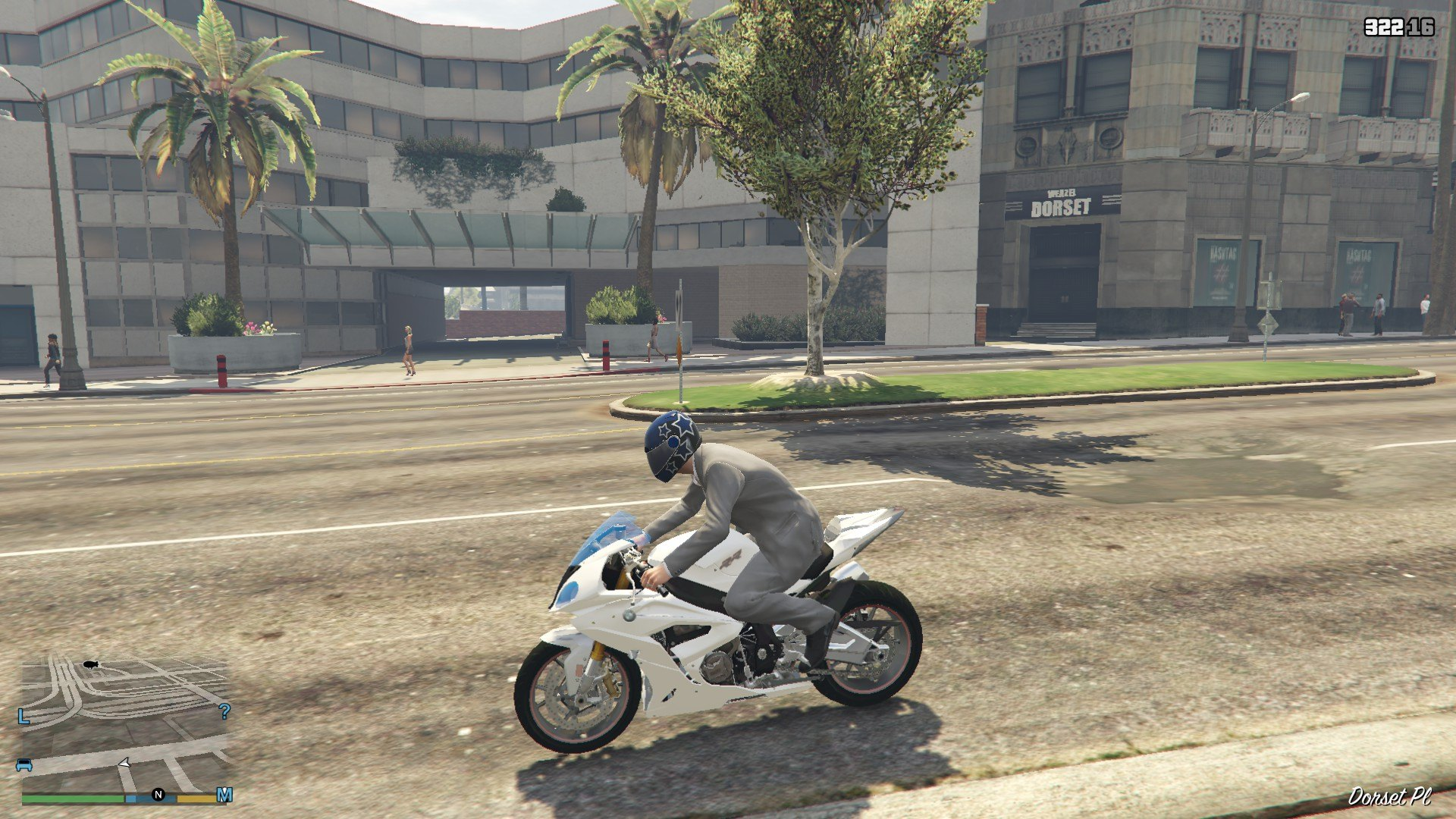 BMW S1000R GTA5 Mods 08