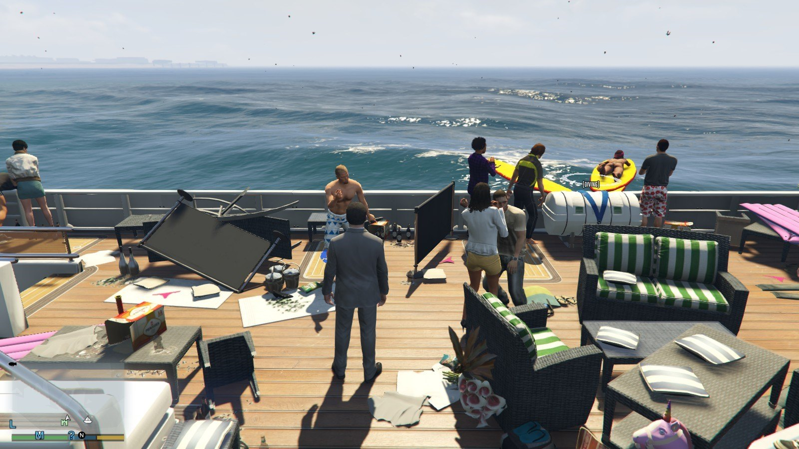 Galaxy Yacht Party Mods GTA5 07