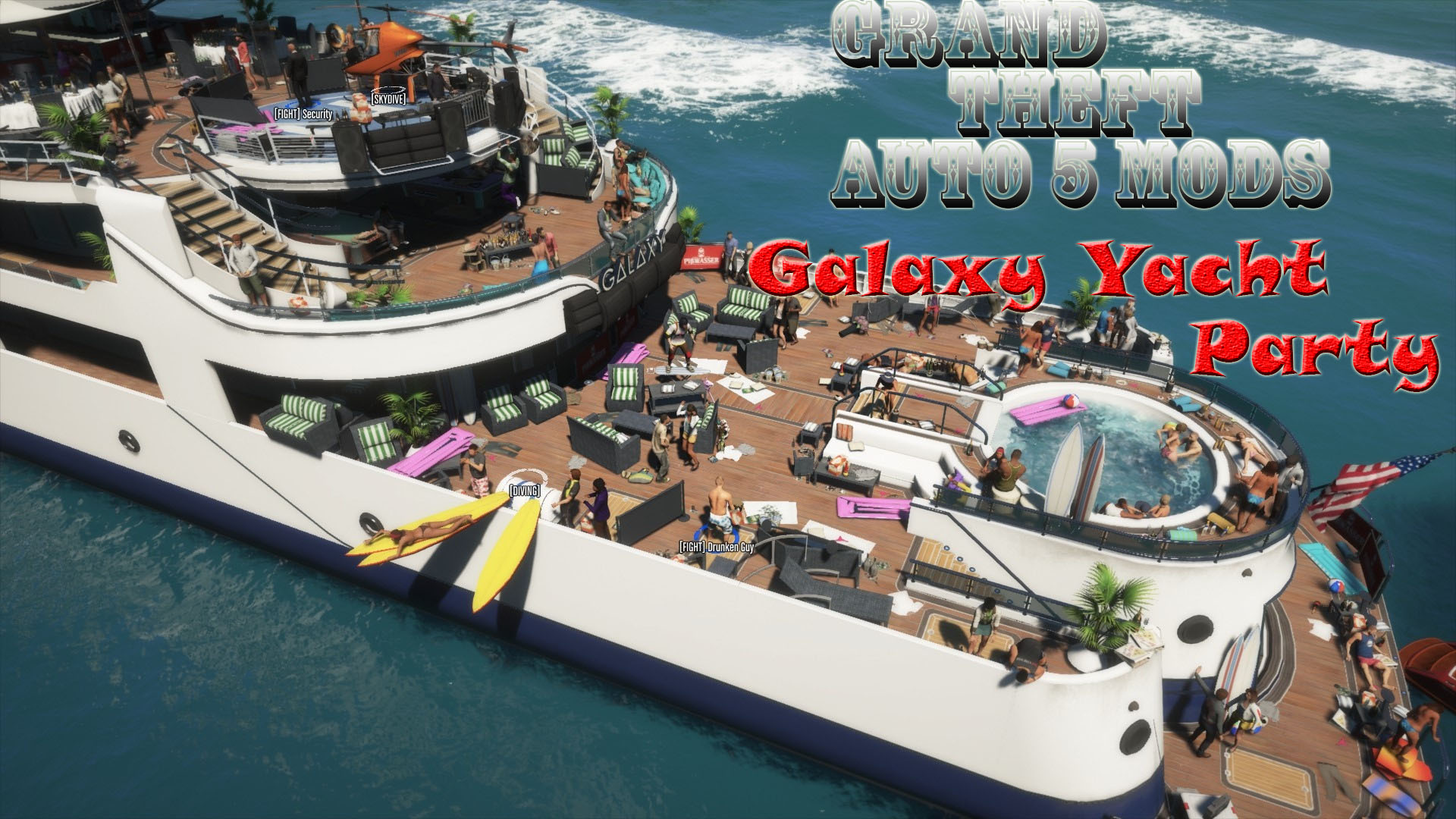 Galaxy Yacht Party