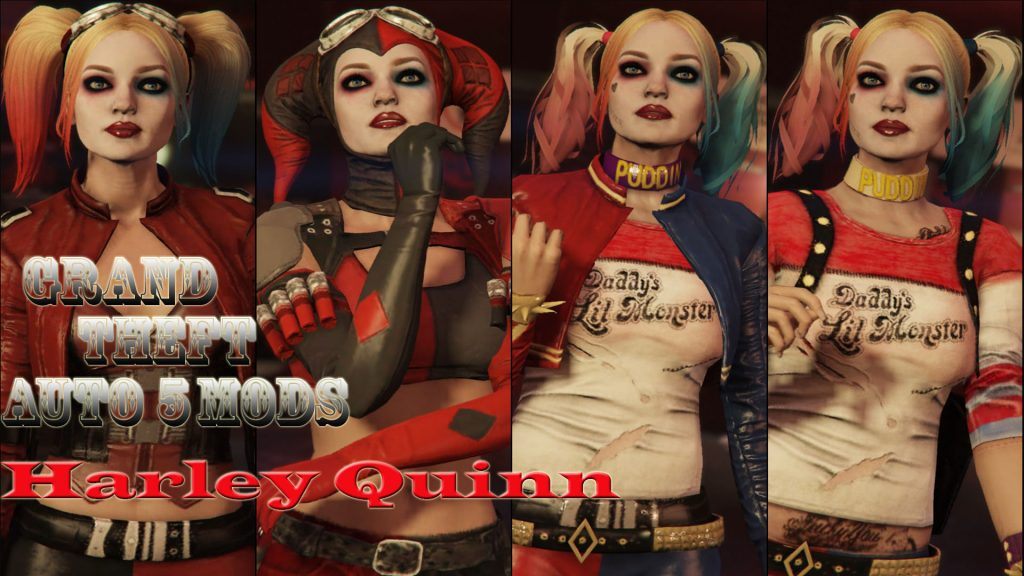 Harley Quinn Injustice 2 Mod for GTA5