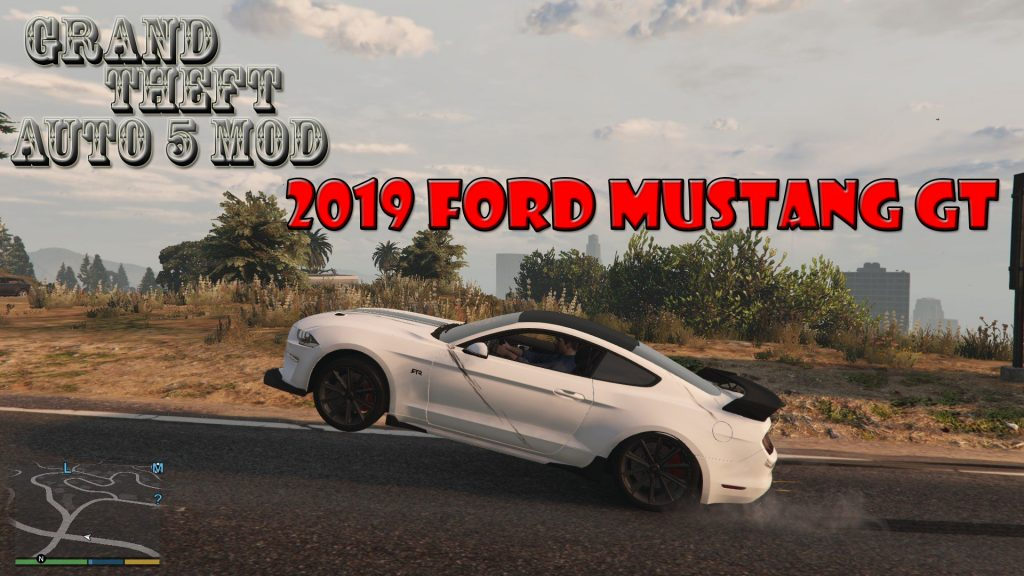 2019 Ford Mustang GT Mod For GTA5