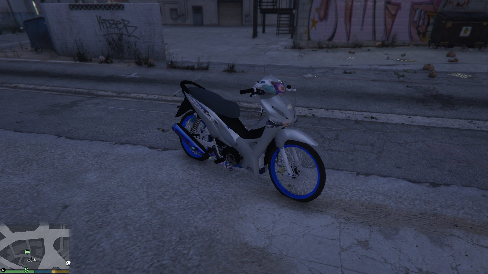 Wave 110i GTA5 Mods 08