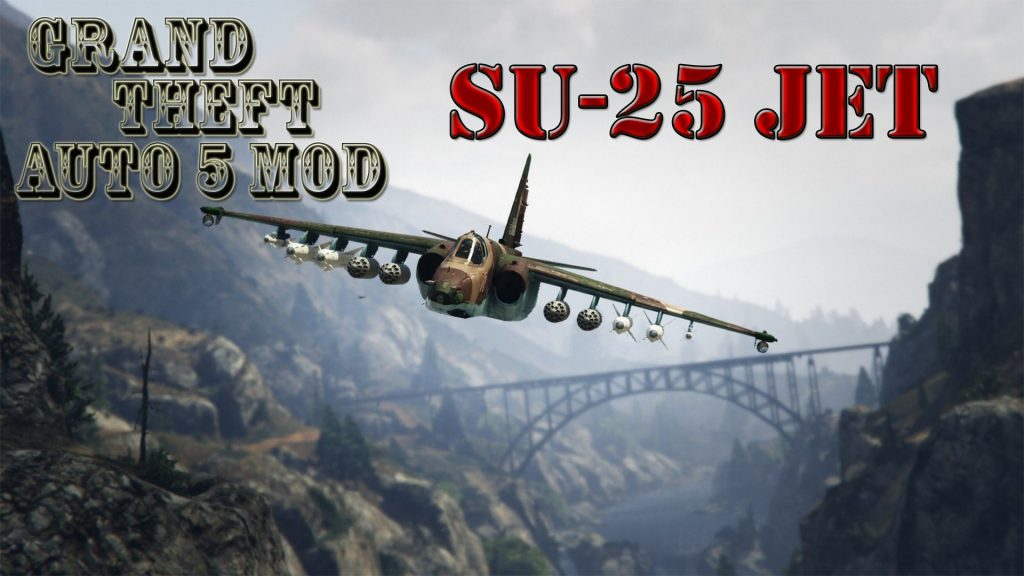 Su-25 Plane Mod For GTA5