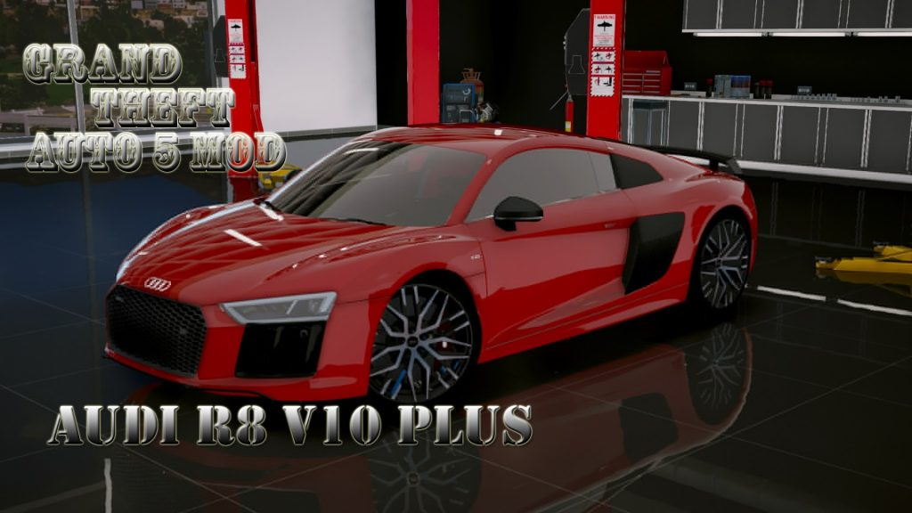 Audi R8 V10 Plus Mod For GTA5