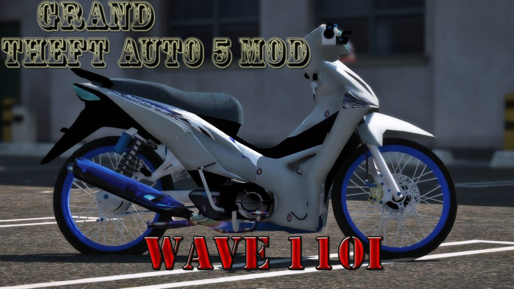 Wave 110i Mod For GTA5