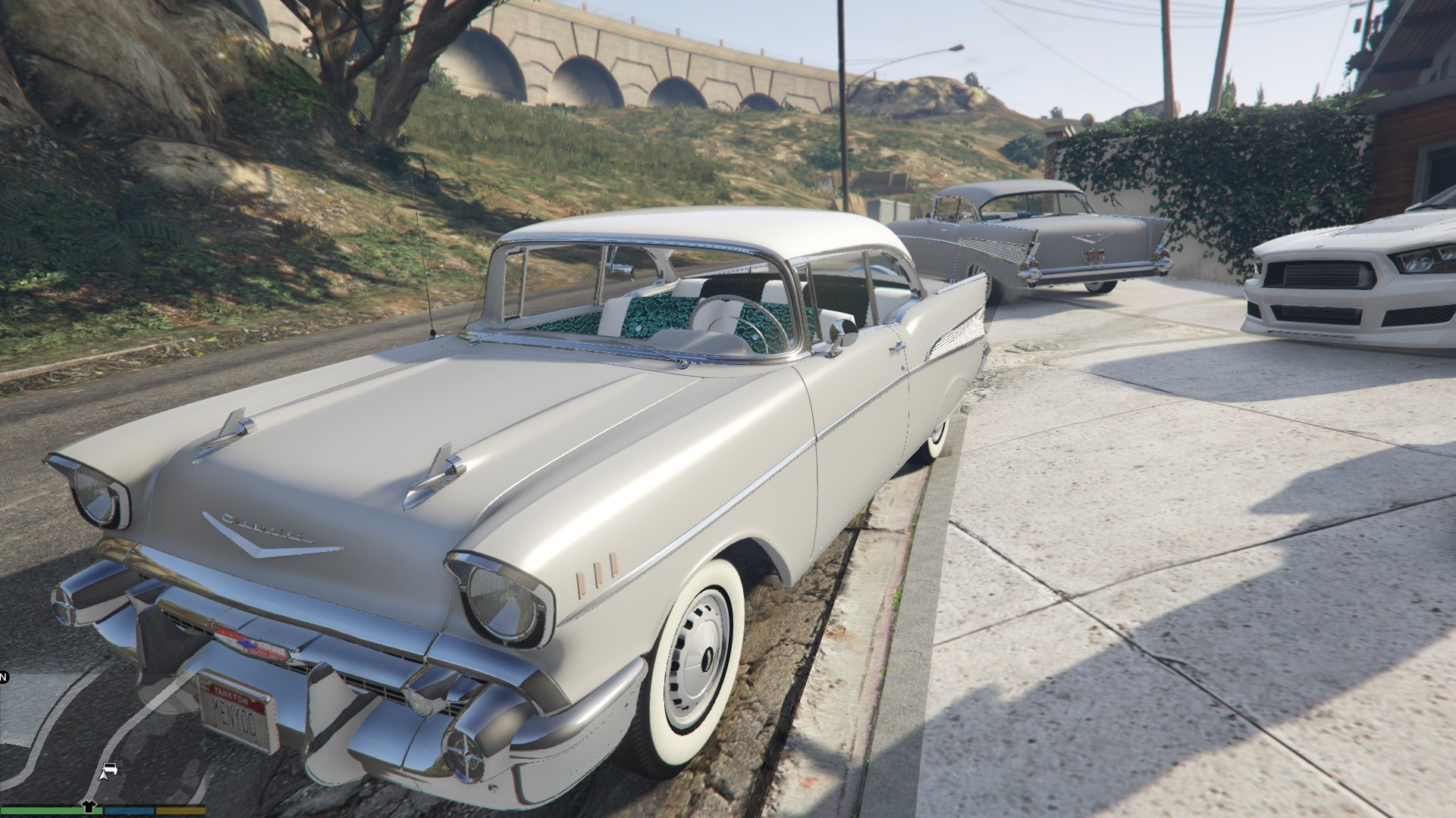 1957 Chevrolet Bel Air GTA5 Mods 05