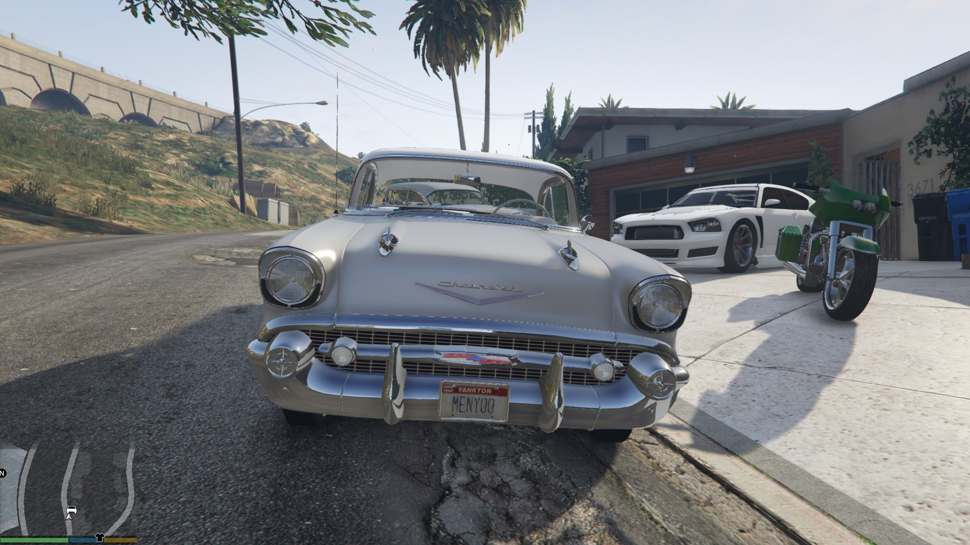 1957 Chevrolet Bel Air GTA5 Mods 06