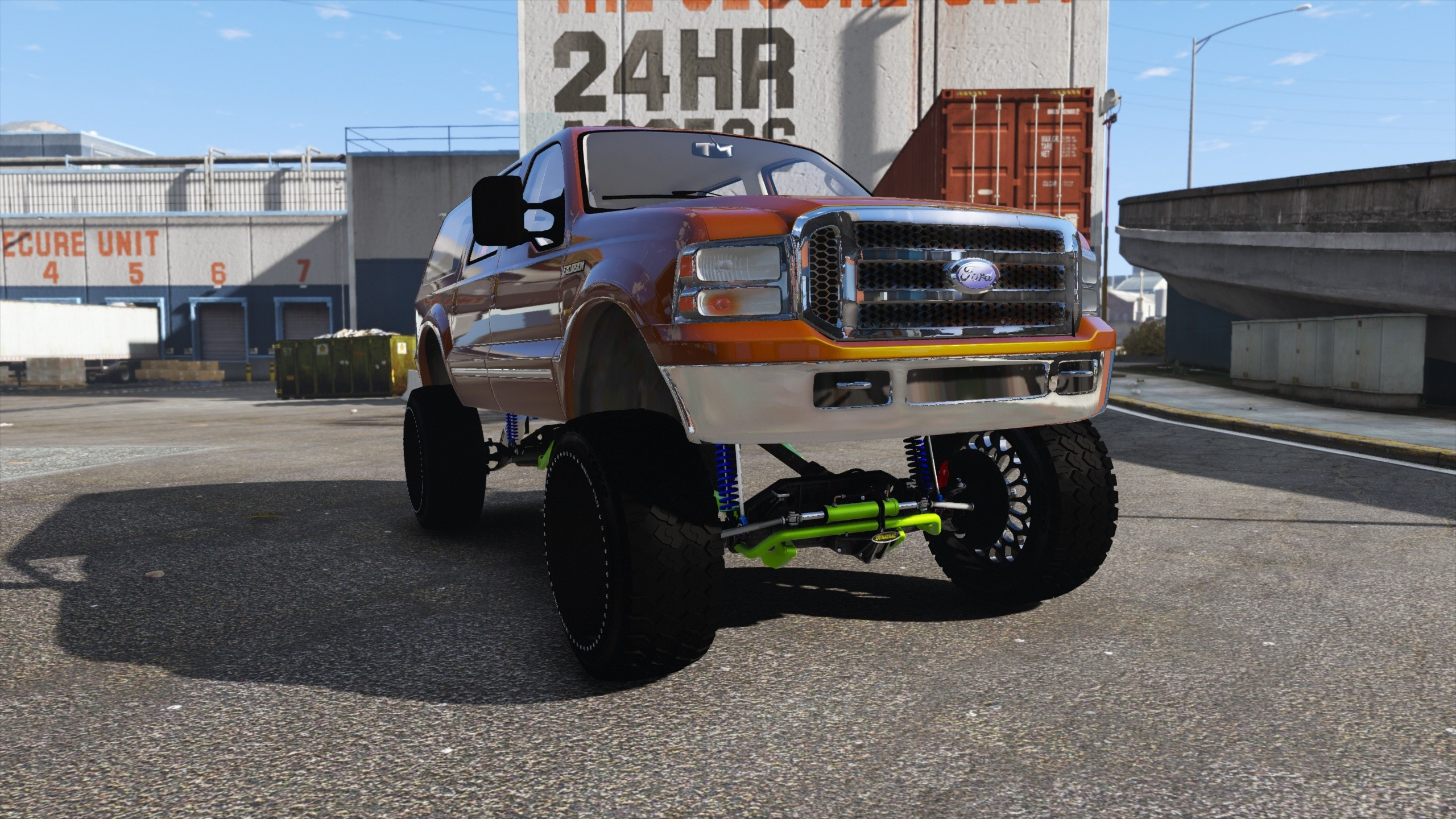 2000 Ford Excursion SEMA Edition GTA5 Mods 07