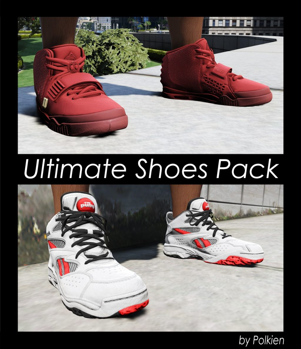 Ultimate Shoes Pack Mod For GTA 5
