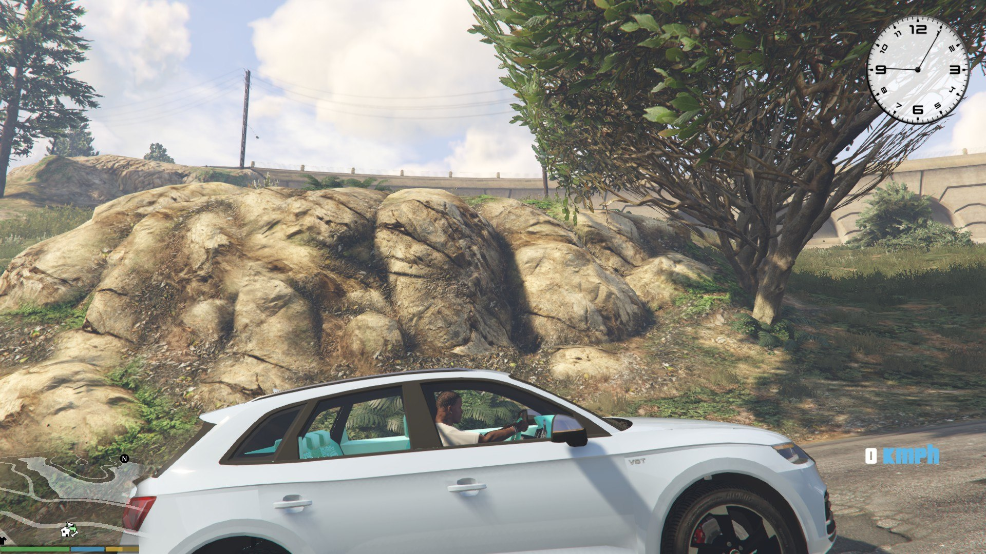 Audi SQ5 2017 GTA5 Mods (9)