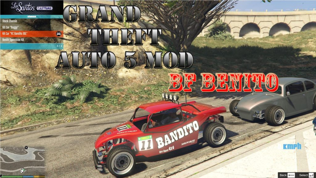 BF Benito Mod For GTA 5