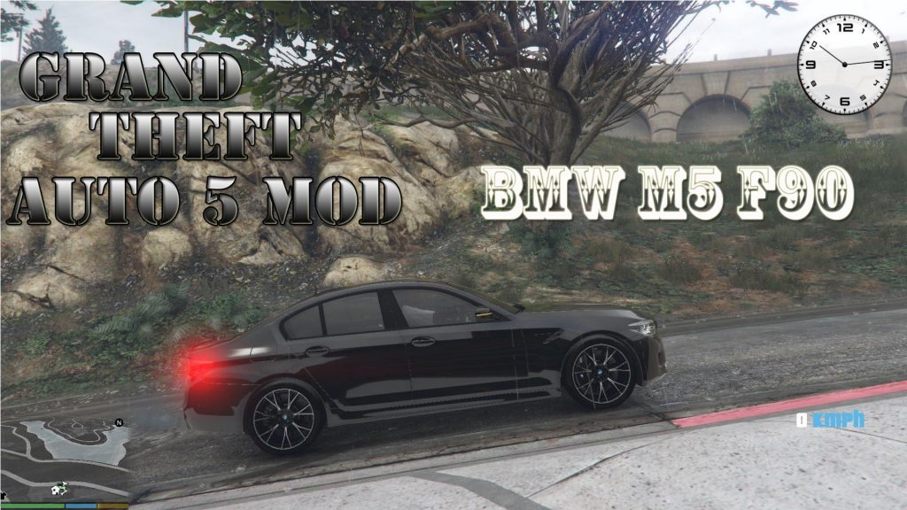 2019 BMW M5 F90 Mod For GTA 5