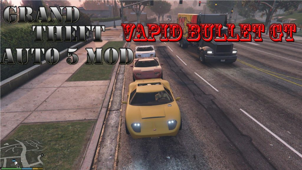 Vapid Bullet GT Mod For GTA5
