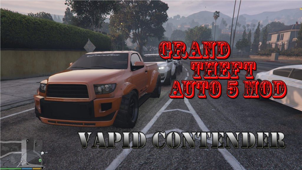 Vapid Contender Mod For GTA5