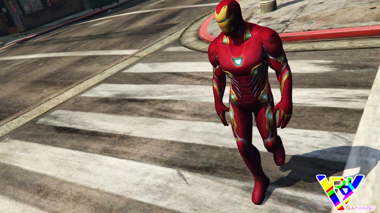 Iron Man Infinity War Mod For GTA 5 - 9Gta | GTA Mods