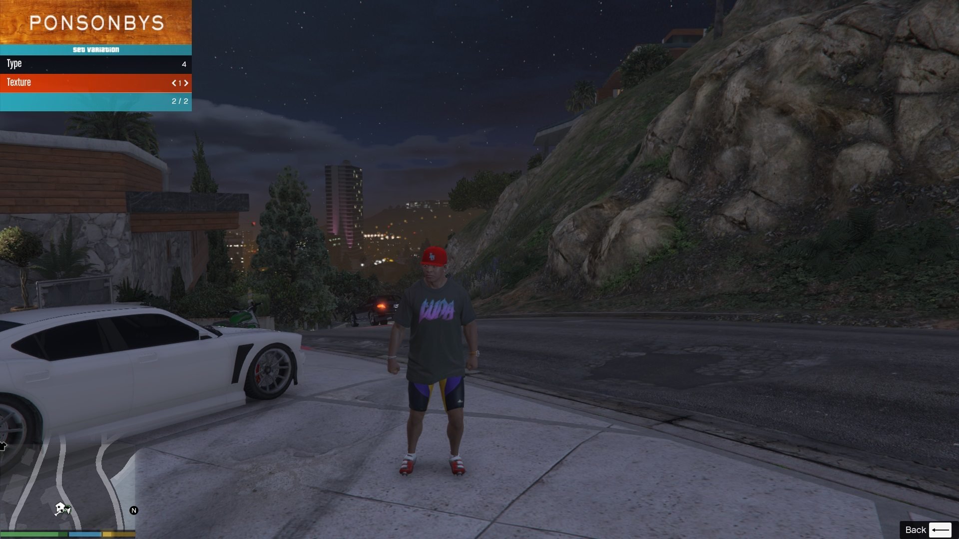 Luna T-Shirt Pack For Franklin GTA5 Mods 04