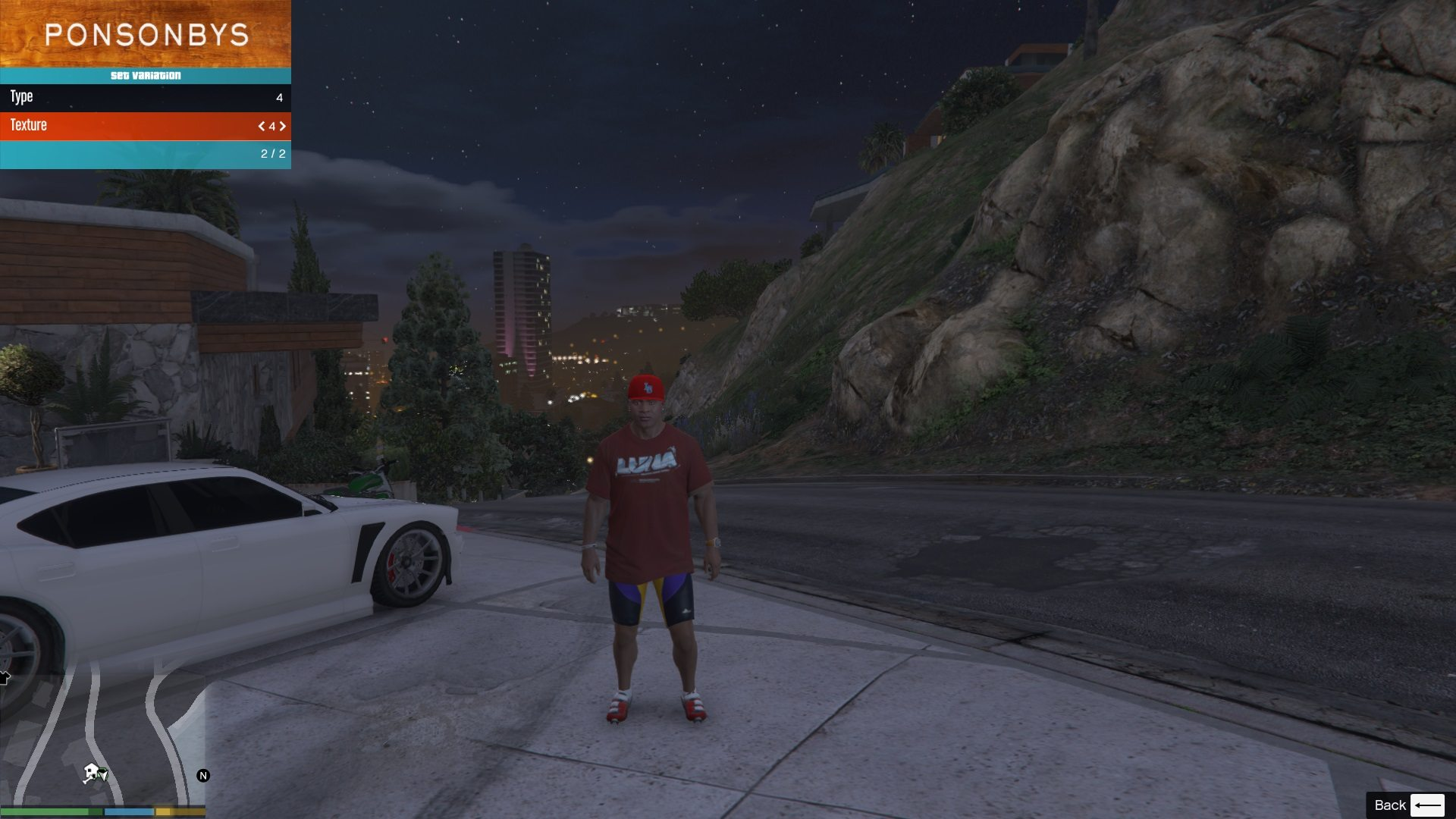 Luna T-Shirt Pack For Franklin GTA5 Mods 05