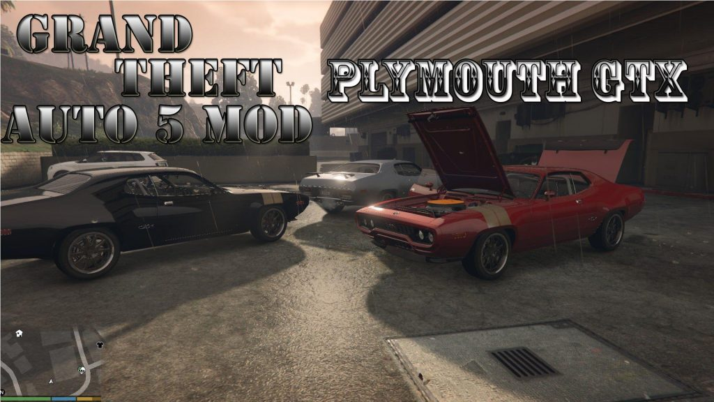 Plymouth GTX 1971 Mod For GTA5