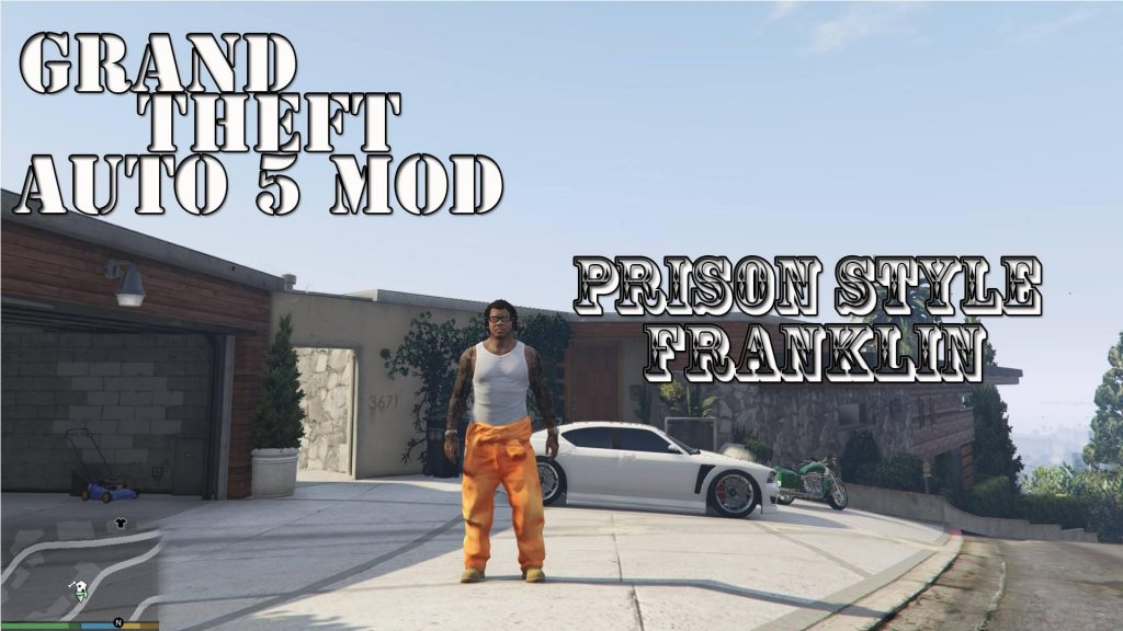 Prison Style Franklin Mod For GTA5