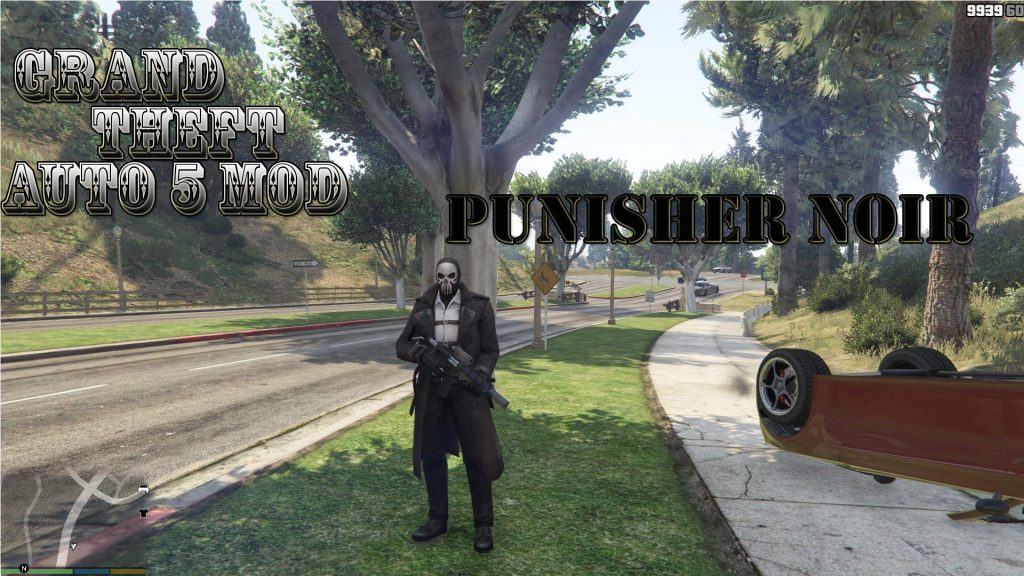 Punisher Noir Mod For GTA5