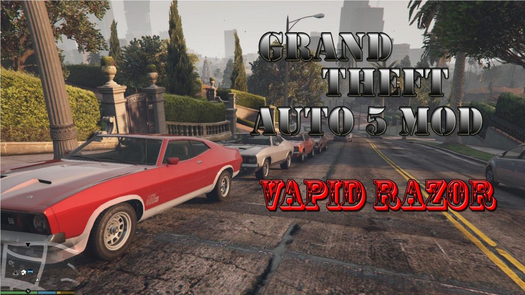 Vapid Razor Mod For GTA5