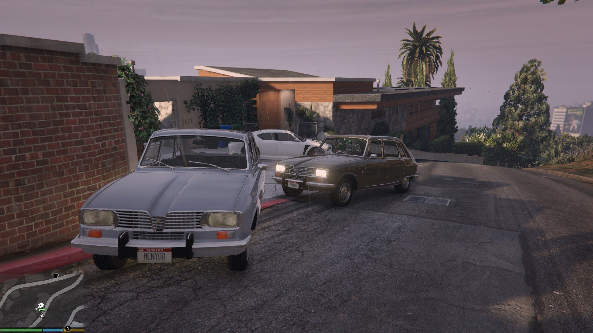 Renault 16 GTA5 Mods 07