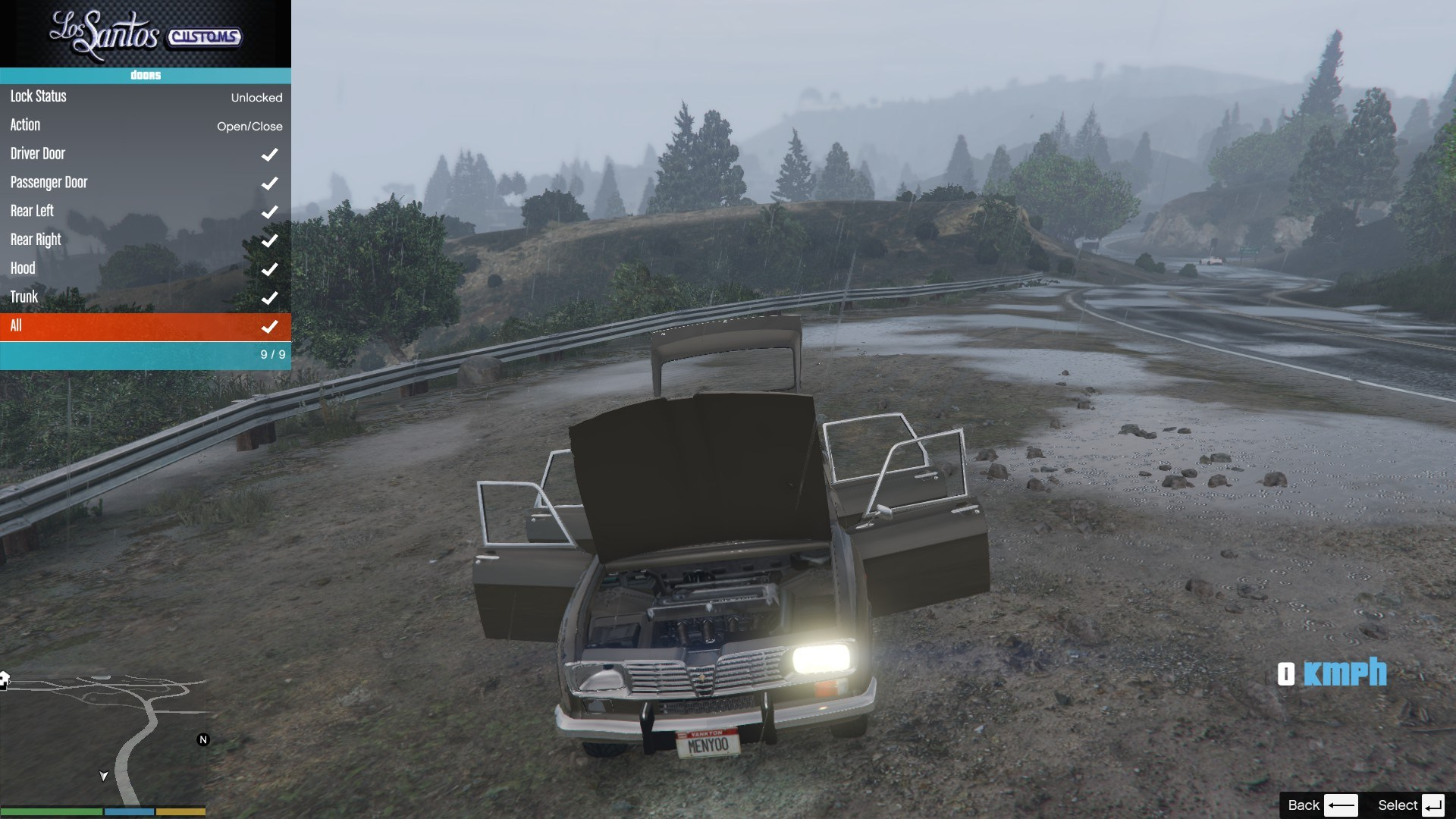Renault 16 GTA5 Mods 09