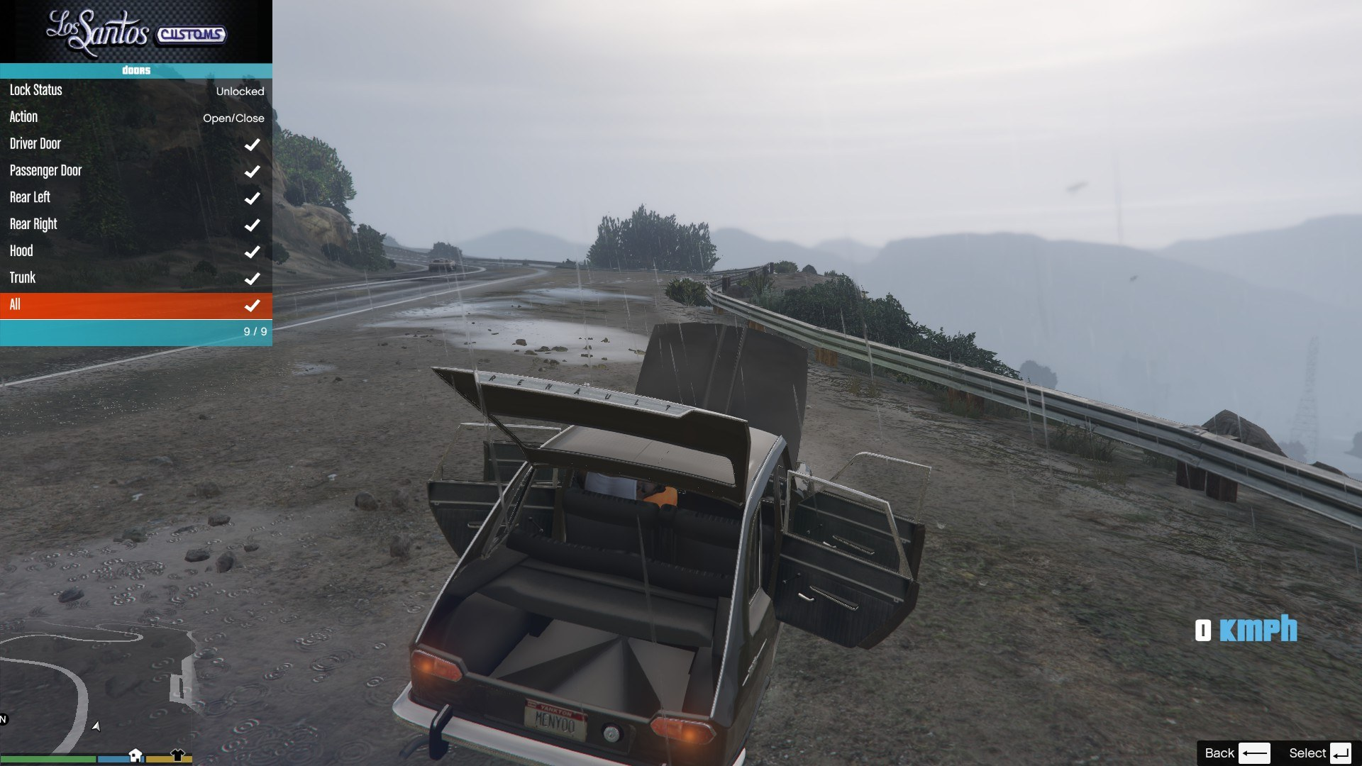 Renault 16 GTA5 Mods 10