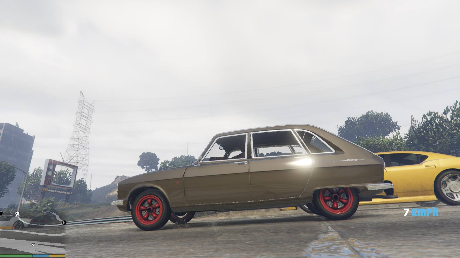 Renault 16 GTA5 Mods 13
