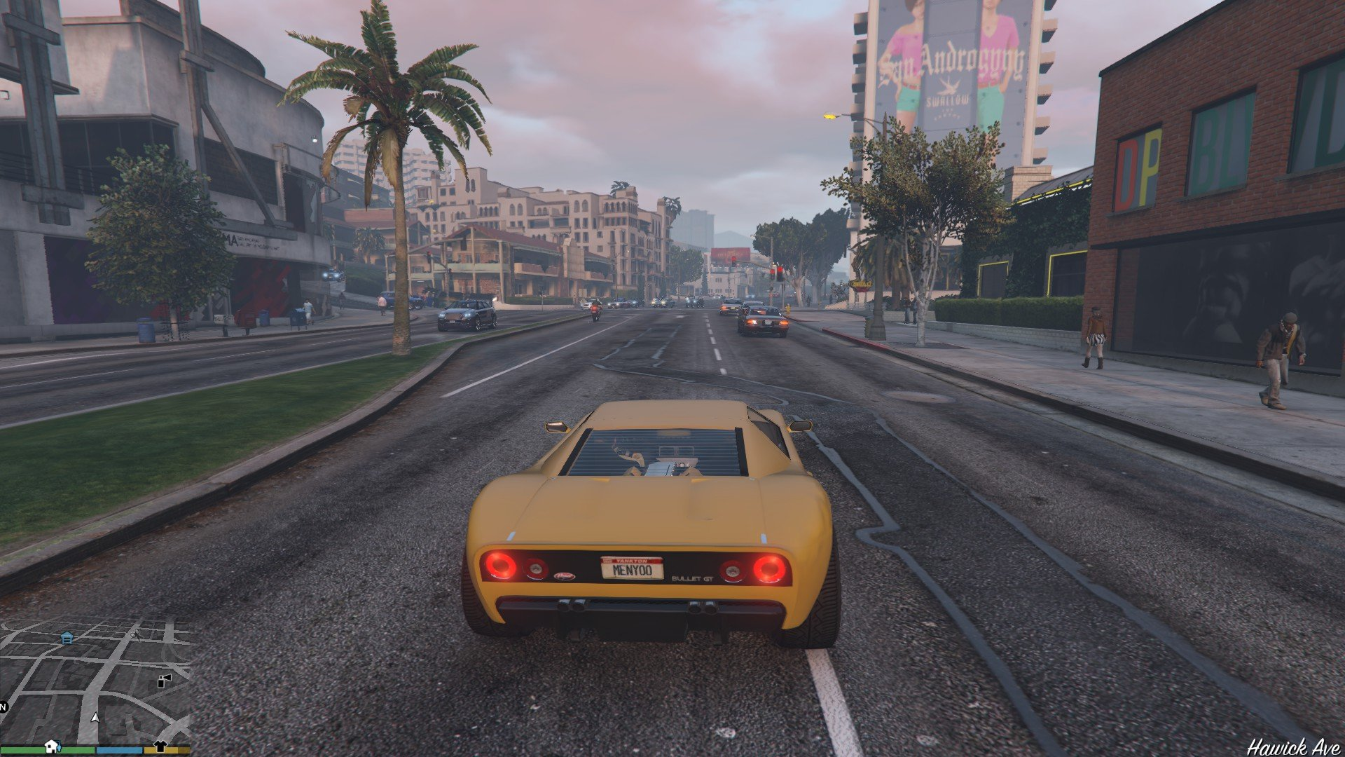 Vapid Bullet GT GTA5 Mods 08