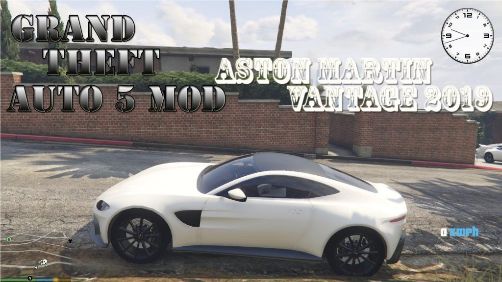 Aston Martin Vantage 2019 Mod For GTA 5