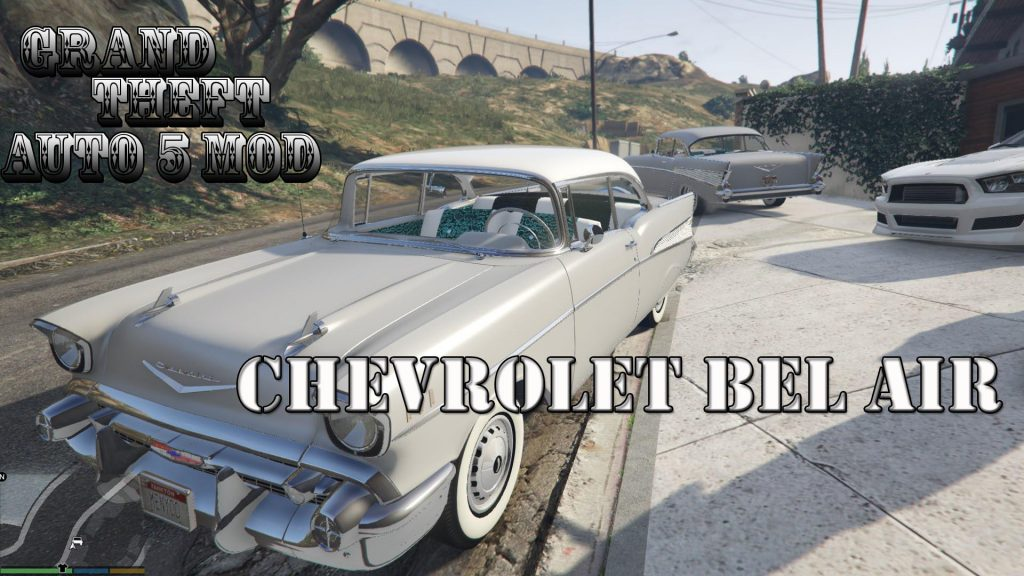 1957 Chevrolet Bel Air Mod For GTA 5