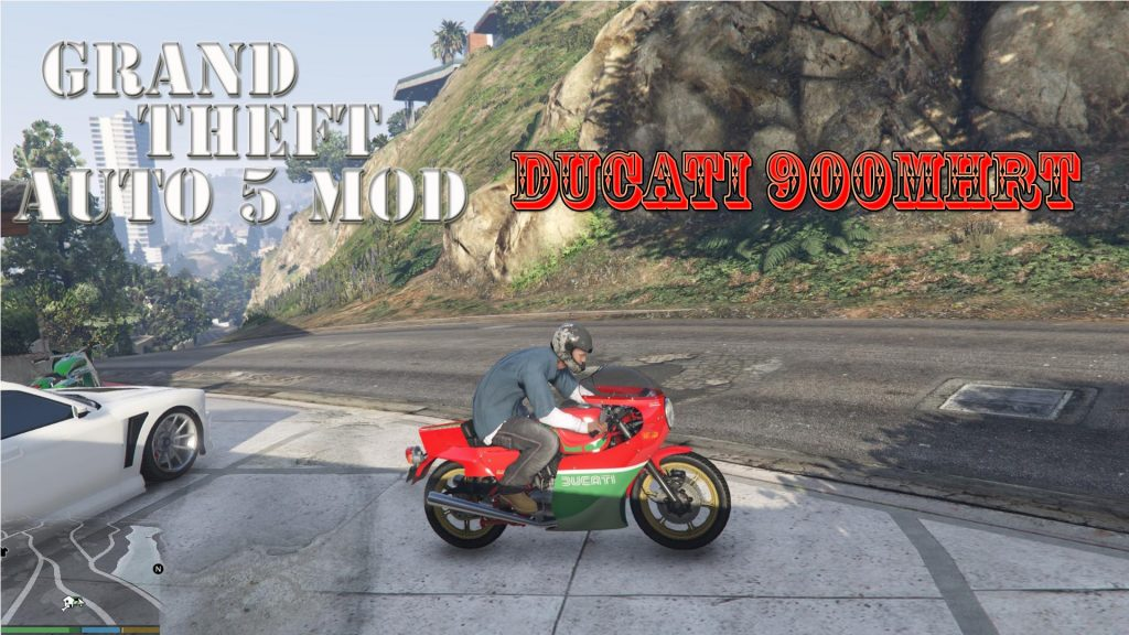 Ducati 900 MHR Mod For GTA 5