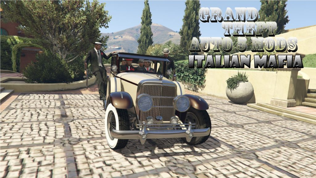 Italian Mafia Gang Mod For GTA 5