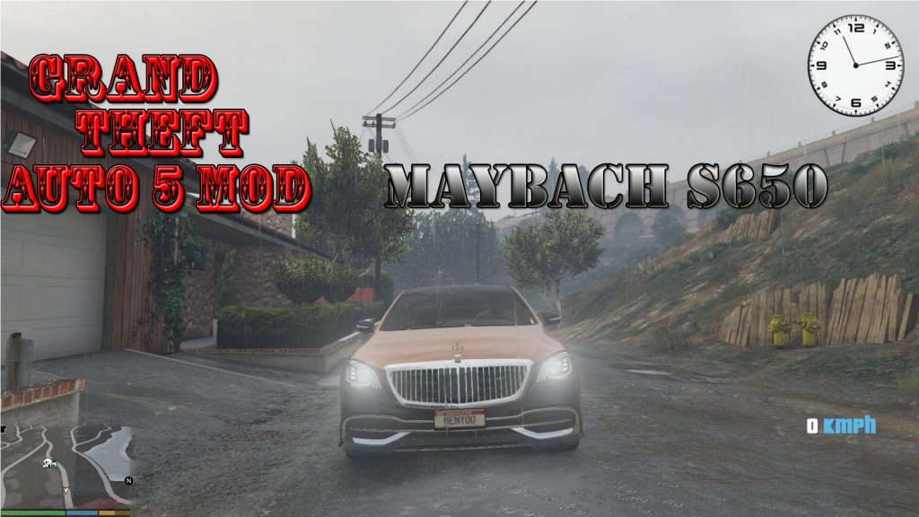 2018 Maybach S650 AB Mod For GTA 5