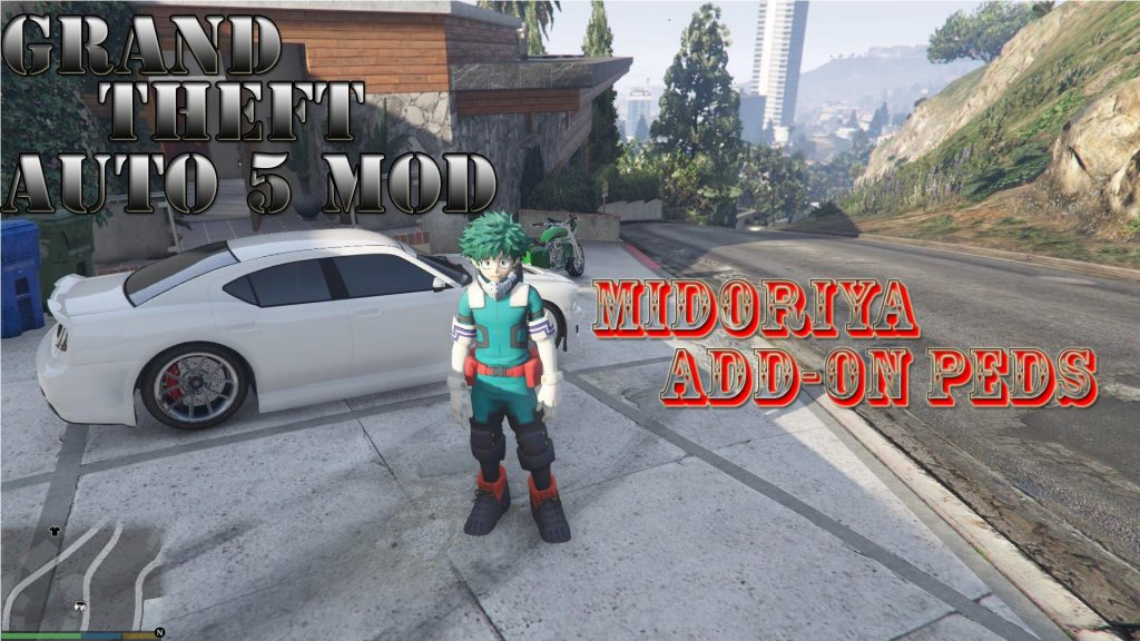 Midoriya My Here Academia Mod For GTA 5