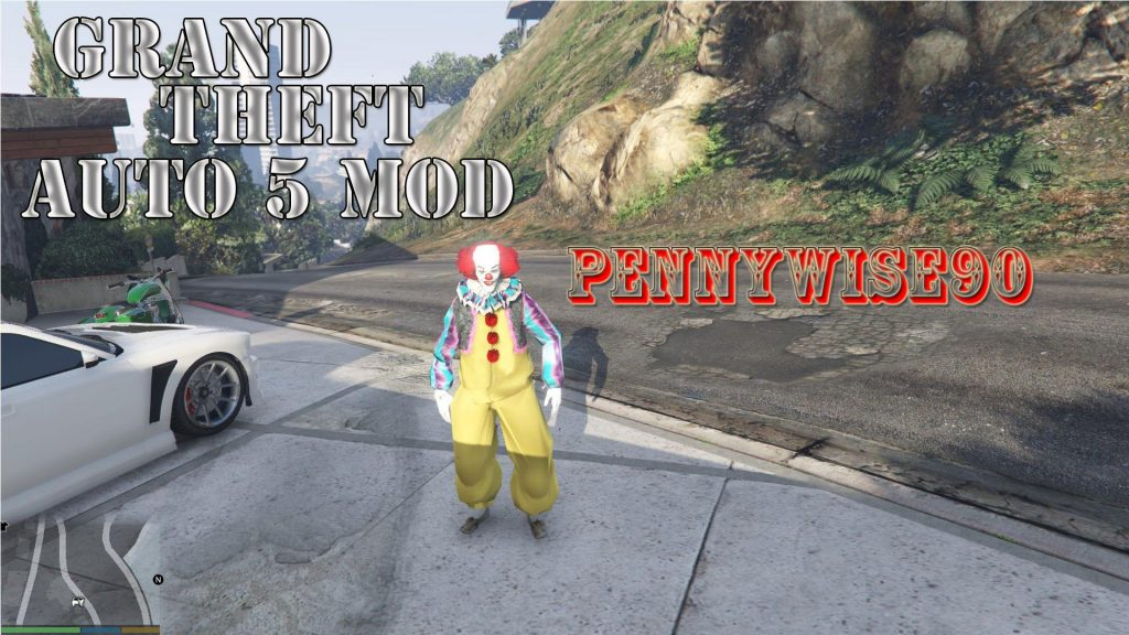Pennywise 1990 Mod For GTA5