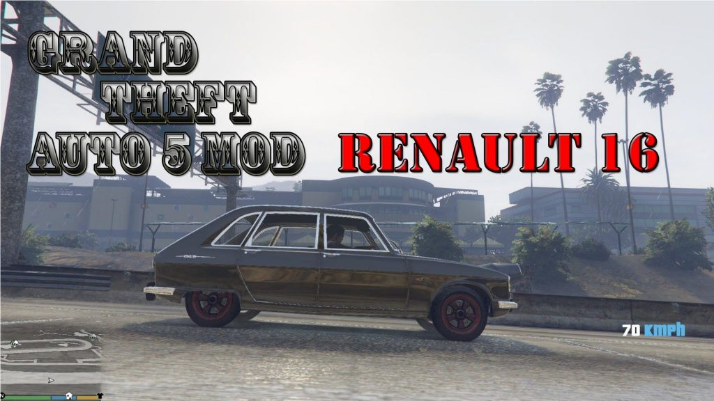 Renault 16 Mod For GTA5
