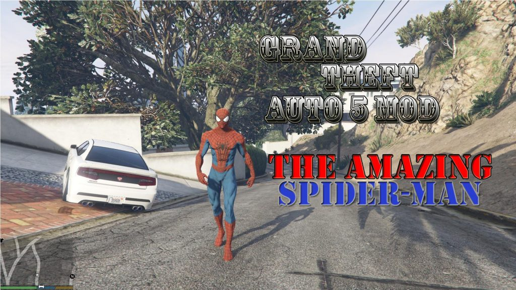 The Amazing Spider-Man 2 Mod For GTA5