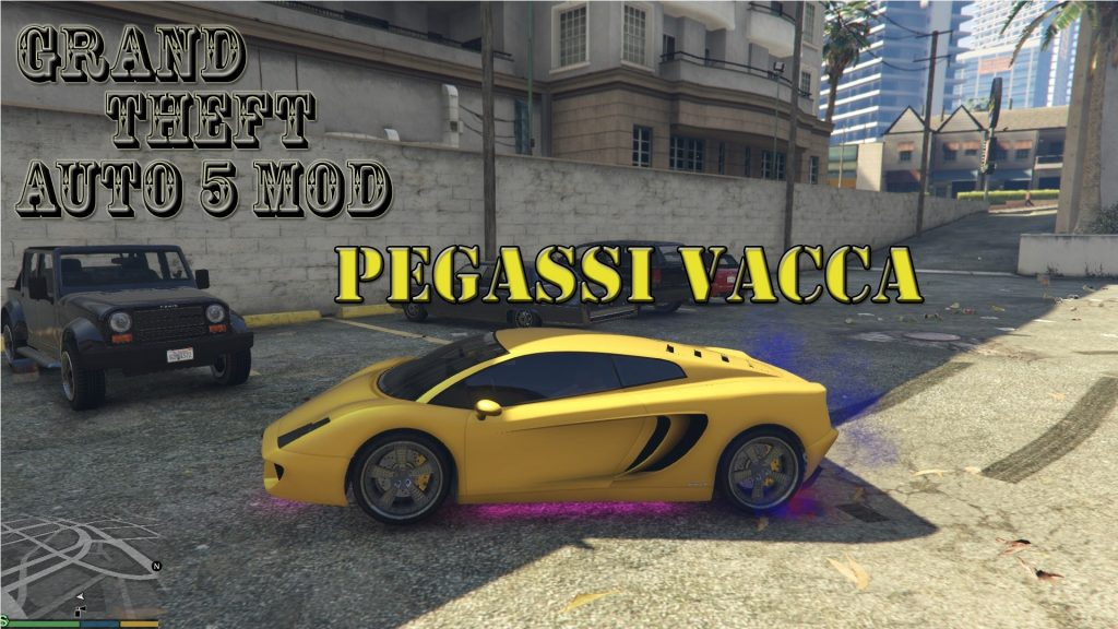Pegassi Vacca Mod For GTA5