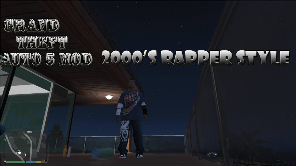 2000's Rapper Style Franklin Mod For GTA 5