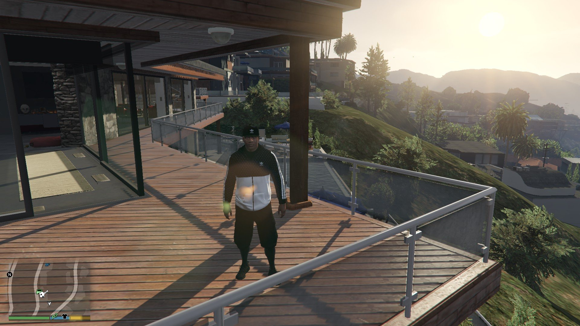 Addidas OutFit For Franklin GTA5 Mods (1)