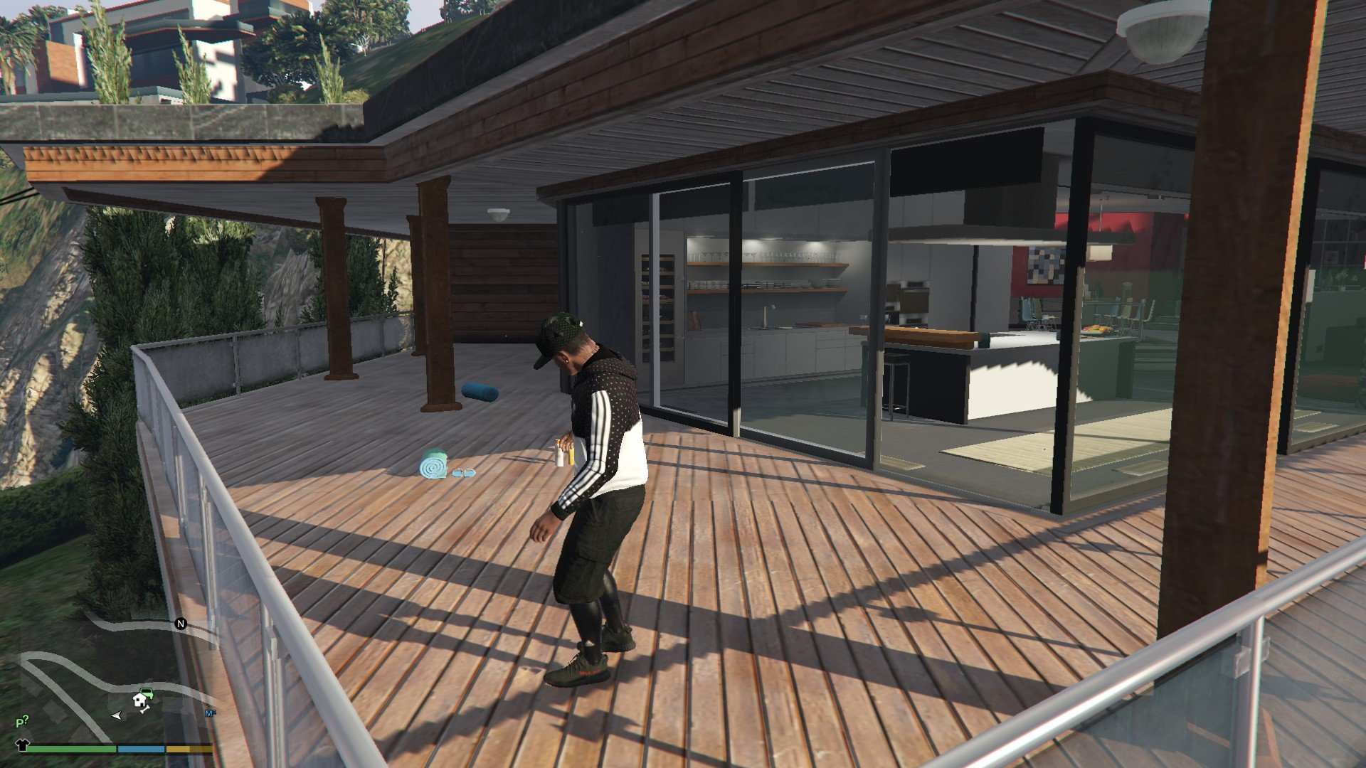 Addidas OutFit For Franklin GTA5 Mods (3)