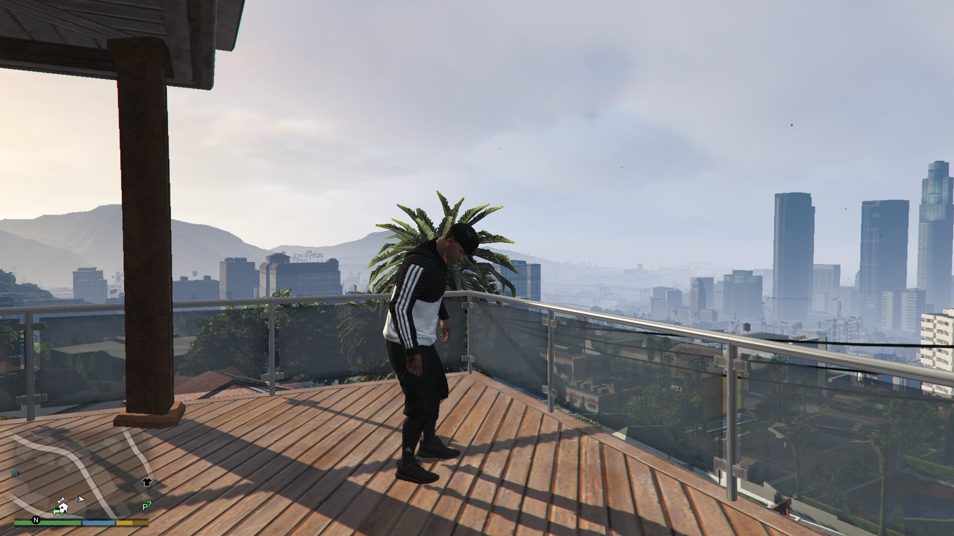 Addidas OutFit For Franklin GTA5 Mods (4)