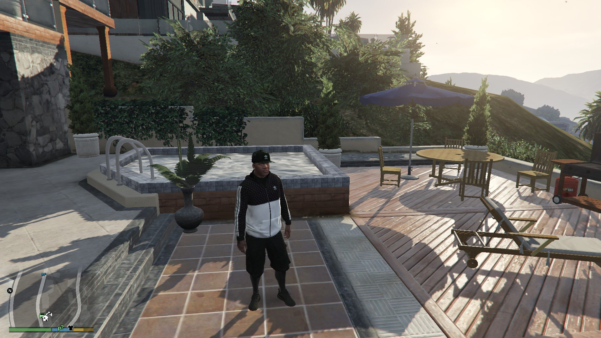 Addidas OutFit For Franklin GTA5 Mods (8)