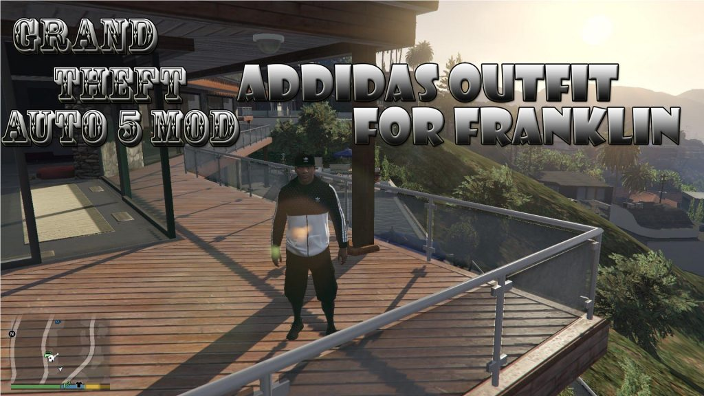 Addidas Outfit Pack On Franklin Mod For GTA 5