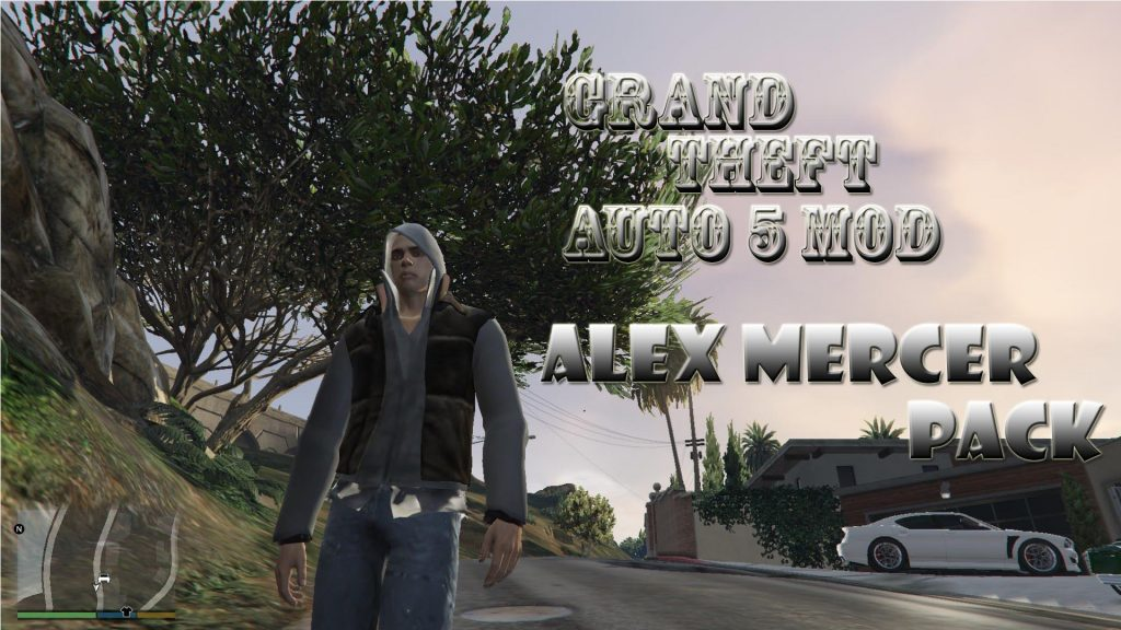 Alex Mercer Alternative Clothes[Add-OnPed] Mod For GTA 5