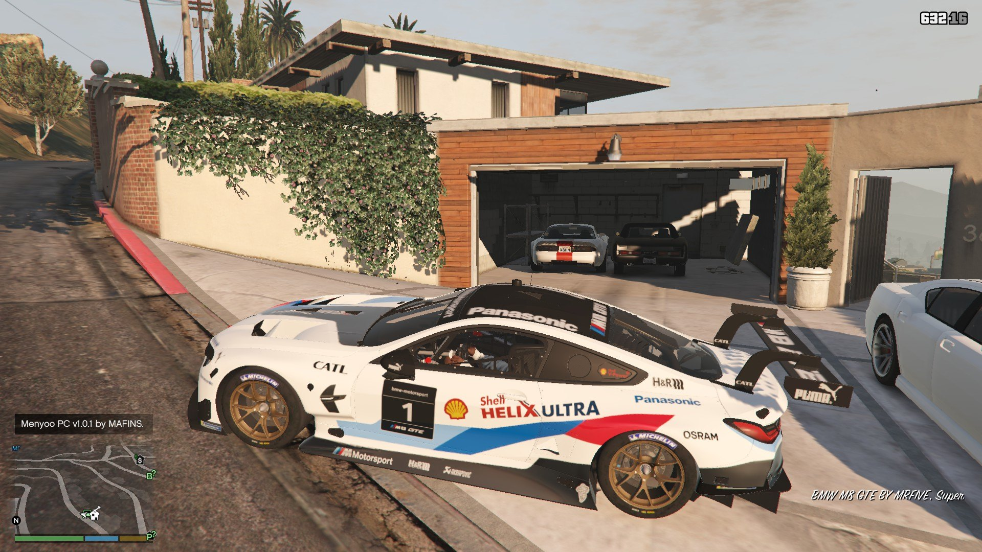 BMW M8 GTE GTA5 Mods (1)