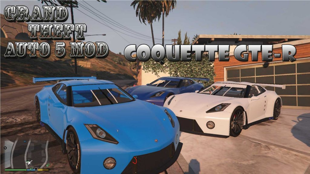 Invetero Coquette GTE-R Mod For GTA 5